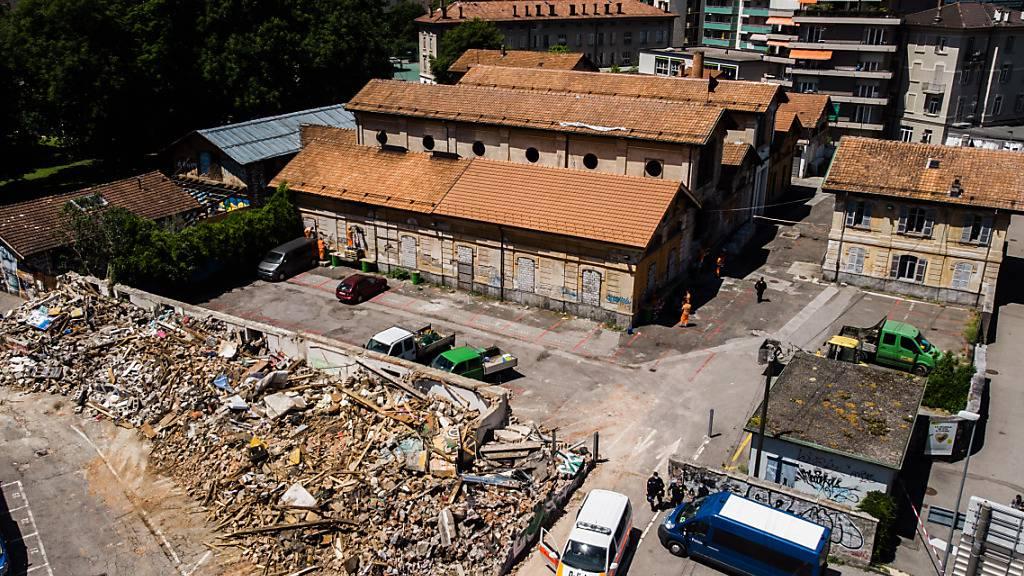 Staatsanwaltschaft hat Asbest in Abbruchtrümmern gefunden