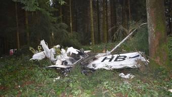 Flugzeugabsturz in Schongau LU.