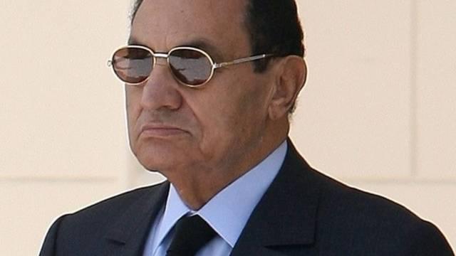 Husni Mubarak herrscht in Ägypten seit 29 Jahren (Archiv)
