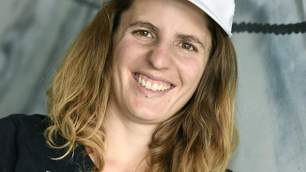 Feierte nach bislang eher zäh verlaufenen Rennen in Bansko den ersten Saisonsieg: Alpin-Snowboarderin Patrizia Kummer