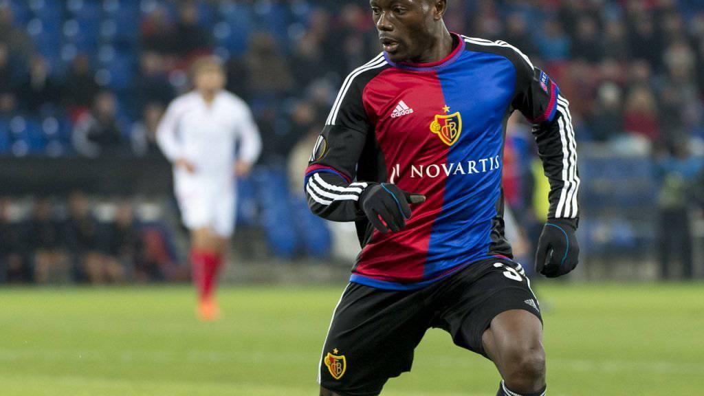 Linksverteidiger Adama Traoré (26) fehlt dem FC Basel beim Saisonauftakt