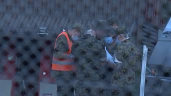 Am Donnerstag mussten 50 Soldaten aus Jassbach (BE) wegen Magen-Darm-Problemen ins Spital eingeliefert werden. Jetzt haben auch Soldaten in Bière (VD) mit Durchfallproblemen zu kämpfen.