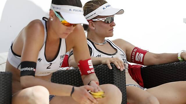 EM-Aus für Nadine Zumkehr (r.) and Joana Heidrich