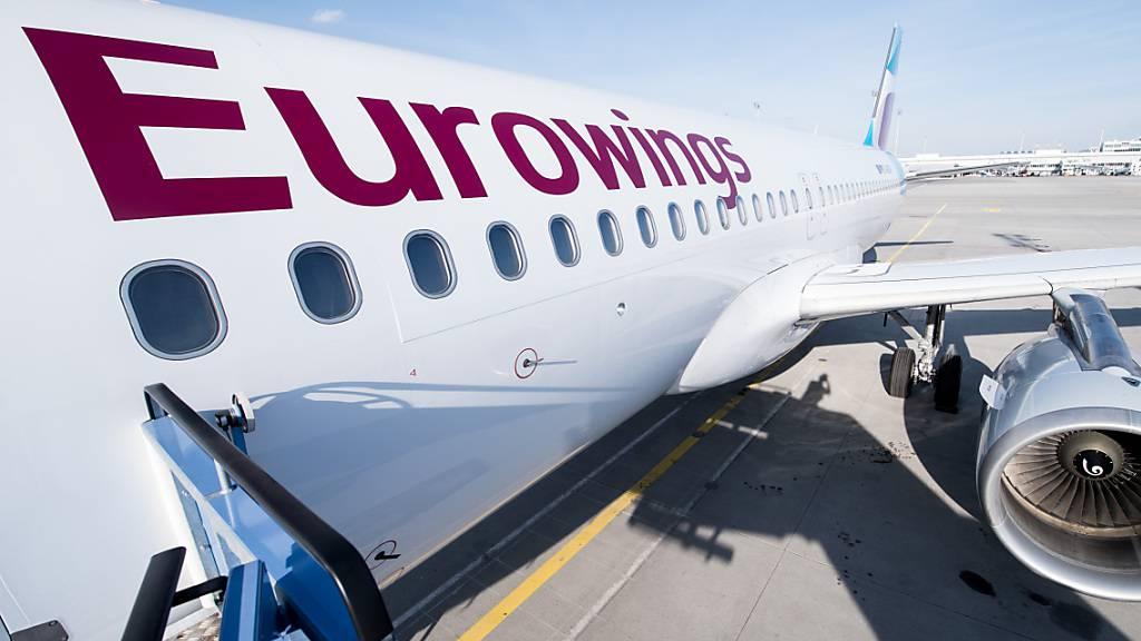 Während ihre Schwestergesellschaft Swiss erst kürzlich 550 Kündigungen bekanntgab, wird bei Eurowings bereits wieder rekrutiert. (Archivbild)