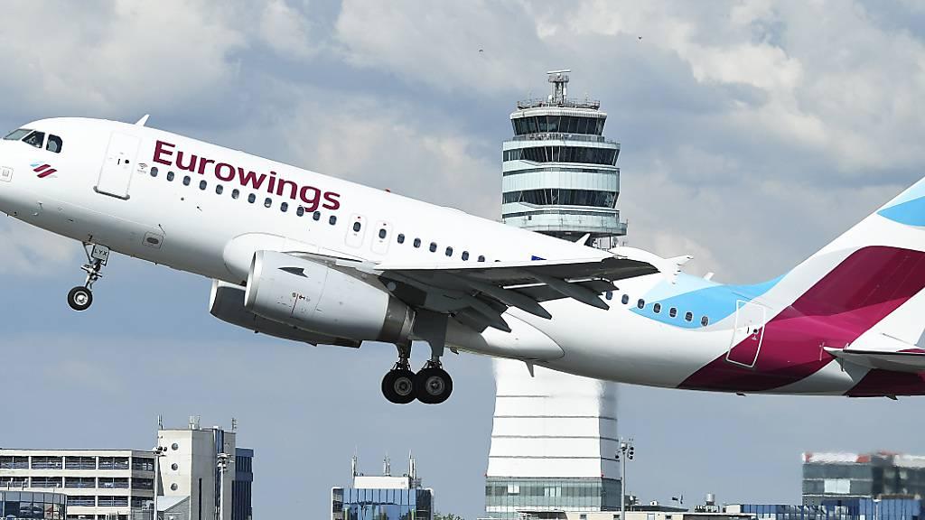 Eurowings fährt Flugbetrieb dank anziehender Buchungen hoch