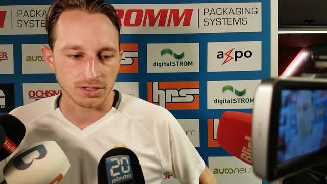 Luca Zuffi nach dem GC-Spiel