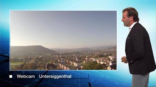 Die Wetterprognosen fürs Mittelland vom Donnerstagabend.