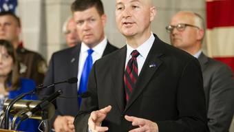 Niederlage für Gouverneur Pete Ricketts: Sein Bundesstaat kippt sein Veto bei Todesstrafe