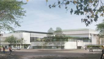Schlanker und luftiger: So soll sich das Zürcher Kongresshaus nach der Sanierung ab 2020 präsentieren.Visualisierung zvg