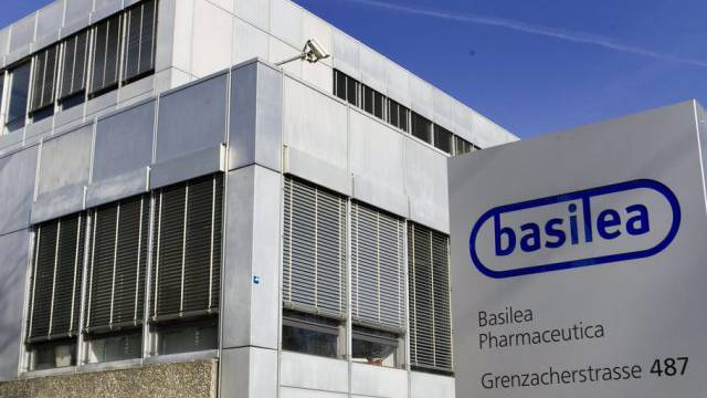 Sitz der Basilea Pharmaceutica in Basel