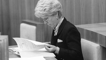 Carla Del Ponte rollte den Fall 1995 wieder auf – und dennoch wurde er fünf Jahre später wieder eingestellt. Warum?