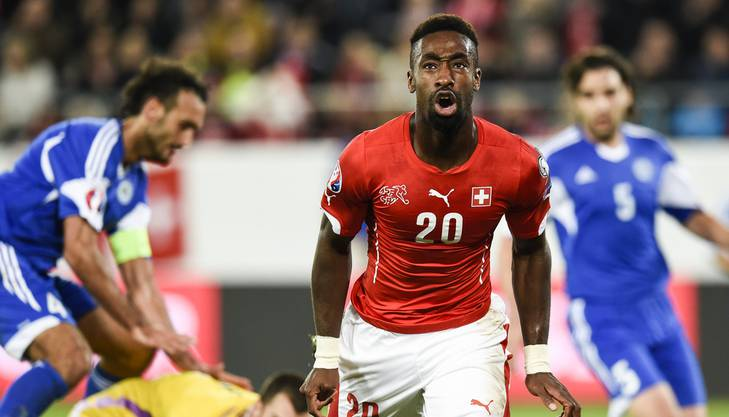 Djourou jubelt. Der Treffer gegen San Marino war erst der zweite im 52. Länderspiel.