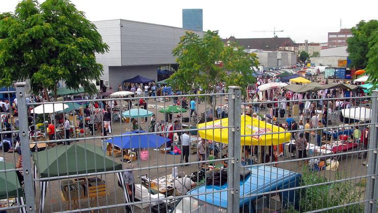 Ein Bild aus vergangenen Tagen: Der nächste Flohmarkt findet im März nach der Baselworld statt.