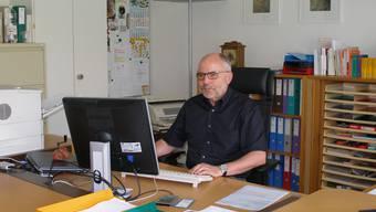 Hans Beer: Gretzenbachs Gemeindeschreiber tritt nach 22 Jahren Tätigkeit in der Gemeindeverwaltung in den Ruhestand. (bw)