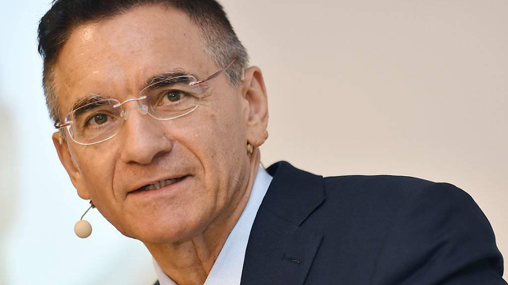 Der langjährige Konzernchef von Georg Fischer, Yves Serra, übergibt seinen Posten im kommenden Jahr an den Finanzchef. (Archivbild)