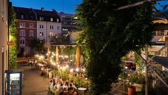 Das Werk 8 im Basler Gundeli-Quartier befindet sich in einem Gebiet mit der Lärmempfindlichkeitsstufe III. Die Anwohner müssen etwas Lärm ertragen.