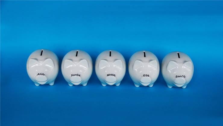 In fünf Bereichen plant die Regierung, Sparmassnahmen vorzunehmen.