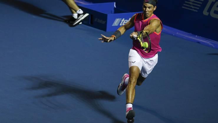 Rafael Nadal war lange der grösste Rivale um die Weltspitze.