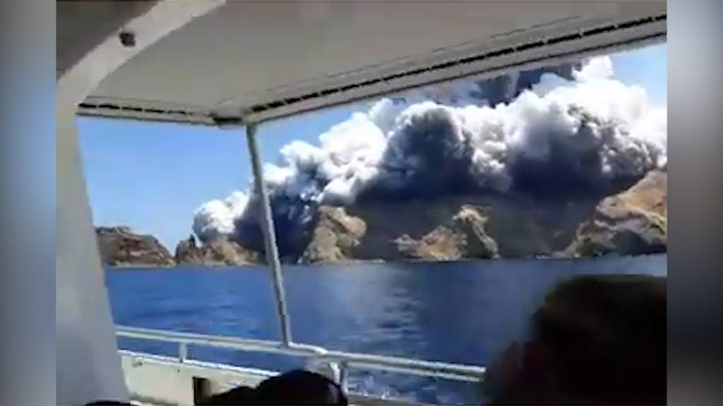 Mehrere Tote bei Vulkanausbruch in Neuseeland