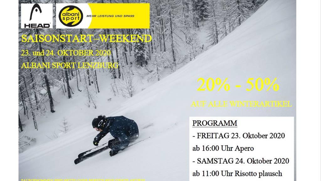 Saisonstart-Weekend