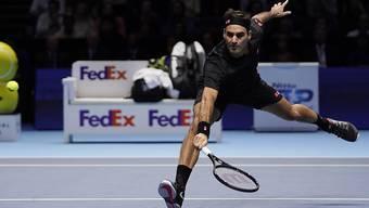 Angriffstennis fast in Perfektion: Roger Federer deklassierte an den ATP Finals Novak Djokovic regelrecht