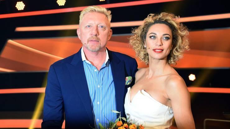 """Bild aus glücklichen Tagen: Boris Becker und Ehefrau Lilly haben sich """"einvernehmlich"""" getrennt."""