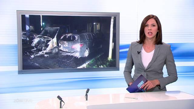 Wieder Implenia-Auto ausgebrannt