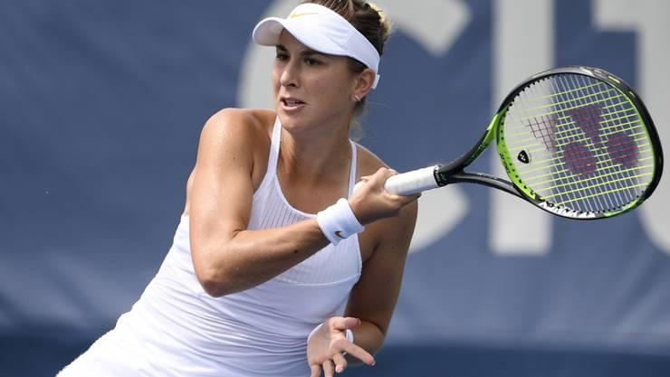 Die Schweizer Tennisspielerin Belinda Bencic ist verliebt. Der Glückliche ist ihr Fitness-Coach. (Archivbild)