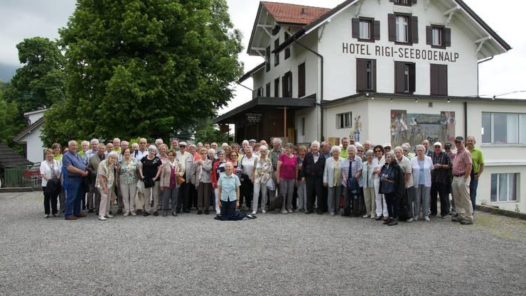 Dulliker BürgerInnen auf der Seniorenreise 2018