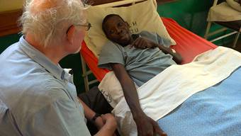 Pater Ernst Wildi ist letztes Jahr als Generaloberer der Missionsgesellschaft Betlehem noch einmal zurückgekehrt nach Sambia, ins Hospiz in Kalingalinga.