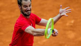Richard Gasquet, Federers Gegner in Madrid