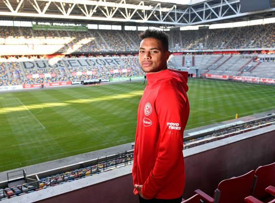 Zack Steffen, Torwart der US-amerikanischen Nationalmannschaft, spielt zurzeit bei Fortuna Düsseldorf. (Bild: Keystone)