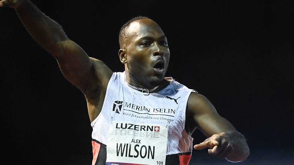 Alex Wilson, hier am Meeting in Luzern