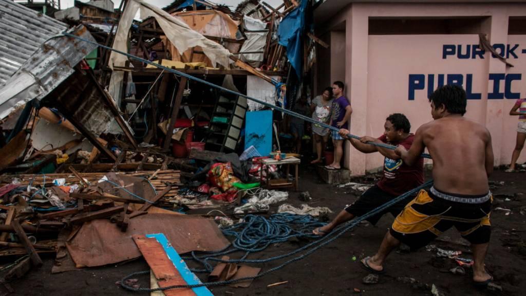 «Kammuri» wütet auf den Philippinen - mindestens 17 Tote