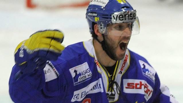 Langenthals Brent Kelly war der Matchwinner.