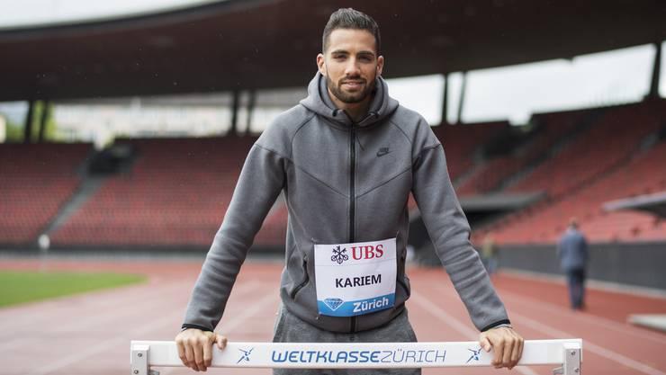 Hürdenläufer Kariem Hussein will in Oslo erstmals seit der EM 2016 unter 49 Sekunden laufen.