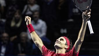 In diesem Jahr spielte Roger Federer nur ein Turnier, bei den internationalen Fans ist dennoch keiner beliebter als der 39-jährige Schweizer