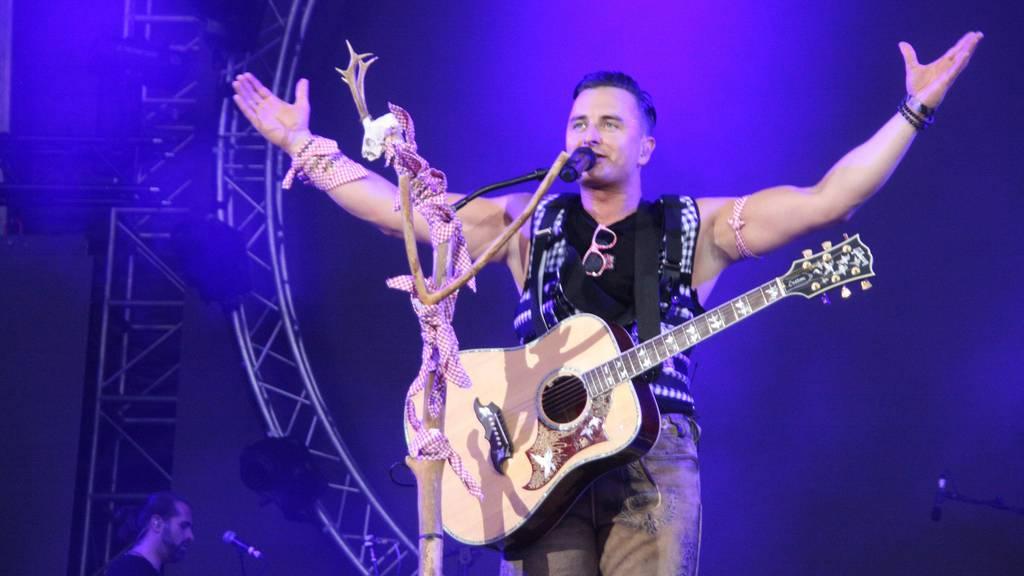 Andreas Gabalier verschiebt sein grosses Fan Konzert erneut