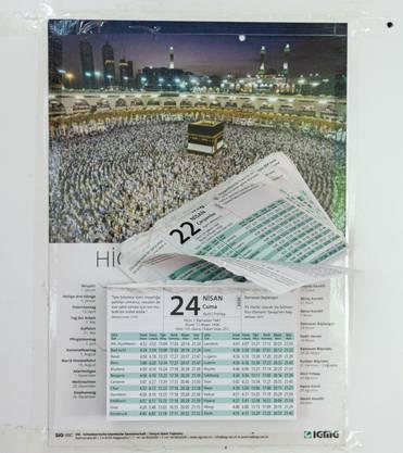 Der Ramadan richtet sich nach dem islamischen Mondkalender.
