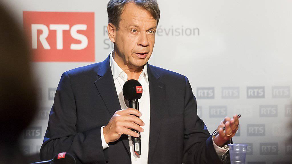 Gilles Marchand wird neuer Generaldirektor der SRG und damit im Jahr 2017 Nachfolger von Roger de Weck. (Archivbild)