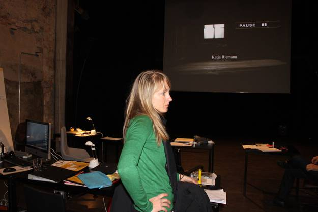 3 Im Kino Uferbau, wo die Filmvisionierungen stattfinden