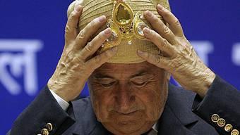 Wie Fifa-Präsident Sepp Blatter bei den Prominenten der Welt ein- und ausging