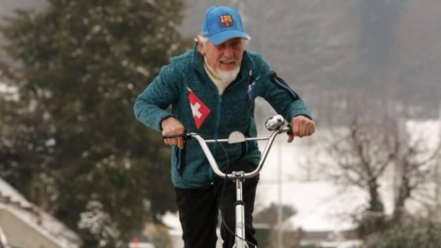 «Ein 70-Jähriger hätte wohl schon Mühe, mit mir mitzuhalten»