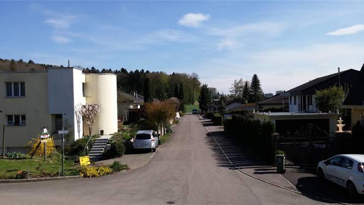 Härtestrasse in Fislisbach.