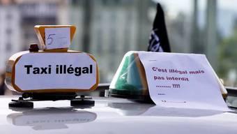 Die Genfer Taxifahrer sind mit ihrer Beschwerde vor dem Bundesgericht abgeblitzt.