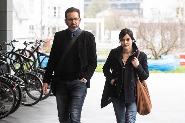 Jolanda Spiess-Hegglin mit Ehemann Reto Spiess.