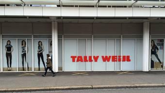 Der Hauptsitz des Tally Weijl in Basel an der Viaduktstrasse.