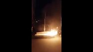 Brennender Sarg