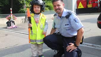 Stadtpolizei besucht Kindertagesstätte