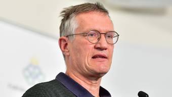 Anders Tegnell, Schwedens Staatsepidemiologe. Seine Corona-Strategie ist umstritten (Bild: Keystone)